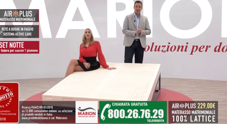 Telepromozione Marion Platinum Collection Materassi in lattice 229€ 800267629
